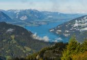 Thunersee in Berner Oberland — Stock Photo