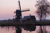 Mill at Woerdens Verlaat — Stock Photo