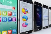 Koncepcja smartfonów — Zdjęcie stockowe