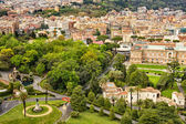 High point view over city of Rome Italy — Stock Photo