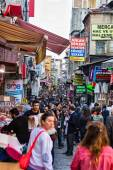 Crowdy Istanbul streets — Stock Photo