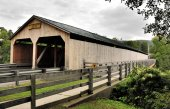 Vermont's Covered Bridges — Stock Photo