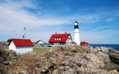 Portland Headlight — Stock Photo