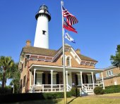 St Simons Light — Stock Photo