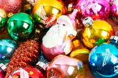 Fond de texture jouets Noël — Photo