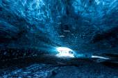 Ice cave in Iceland — Stock Photo