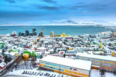 View of Reykjavik, Iceland — Stock Photo