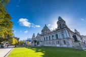 City hall of Belfast — Stock Photo
