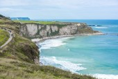 Güzel sahil peyzaj — Stok fotoğraf