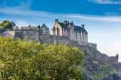 Edinburgh Castle on sunny day — Stock Photo