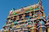 Bellissime statue nel tempio — Foto Stock