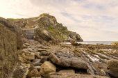 Euskalerria stranden — Stockfoto