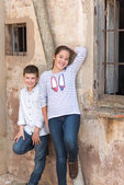 Children posing 2 — Stock Photo