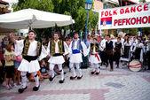 Greek Dancing — Stock Photo