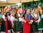 Serbian Dancers — Stock Photo
