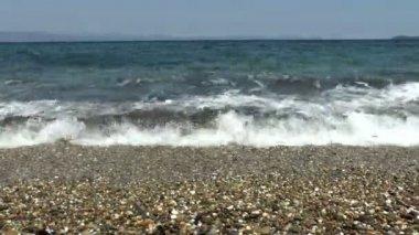 Deserted Beach — Stock Video