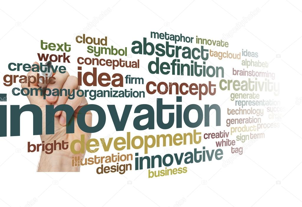 Innovation creativity business concept background — Stock ...