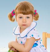 Very cute little girl — Stock Photo