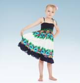 Charming little girl — Stock Photo