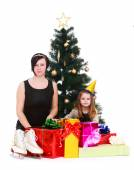 Photo mother and daughter — Stock Photo