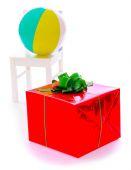 Güzel sarılmış hediye — Stok fotoğraf