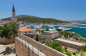 View of Cesme from the castle, Turkey — Stock Photo