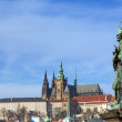 Statue of St. John of Nepomuk, Charles Bridge, Prague, Czech Republic — Stock Photo #61194017
