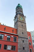 Innsbruck City Tower, Austria — Stock Photo