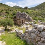 Постер, плакат: Ancient fortification and gate in Mycenae Peloponnese Greece