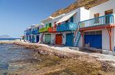 クリマ漁村、ミロス島, キクラデス諸島, ギリシャ — ストック写真