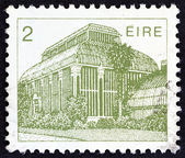 "IRELAND - CIRCA 1983: A stamp printed in Ireland from the ""Irish Architecture"" issue shows Central Pavilion, Dublin Botanic Gardens, circa 1983. — Stock Photo"