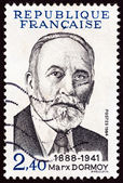 FRANCE - CIRCA 1984: A stamp printed in France shows Marx Dormoy, circa 1984. — Stock Photo