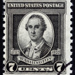 ������, ������: USA CIRCA 1932: A stamp printed in USA from the 200th Anniversary of the Birth of George Washington issue shows George Washington By John Trumbull 1780 circa 1932