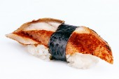 Unagi sushi with eel fish — Stock Photo