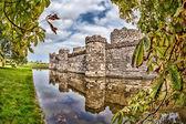 Caernarfon Castle in Wales, United Kingdom. — Stock Photo