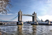Famous Tower Bridge in London, England — Stock Photo