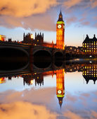 Famous Big Ben in London, England — Stock Photo