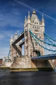 Famous Tower Bridge in London, England — Stock Photo
