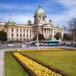 Parliament of the Republic of Serbia in Belgrade — Stock Photo #65688429
