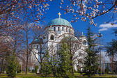 St. Sava Cathedral in Belgrade, Capital city of Serbia — Stock Photo