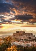 Acropolis with Parthenon temple in Athens, Greece — Stock Photo