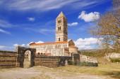 Sardinia island with roman Saccargia church, Italy — Zdjęcie stockowe