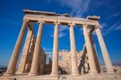 Parthenon temple on the Acropolis in Athens, Greece — Stock Photo