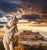Temple du Parthénon sur l'Acropole d'Athènes, Grèce — Photo