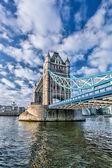 Tower Bridge in London, England — Stock Photo
