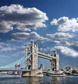 Tower Bridge in London, England — Stock Photo