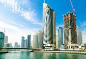 UAE city — Stock Photo