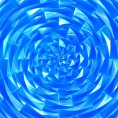Glass swirl — Stock Photo