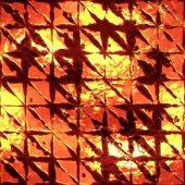 Hot iron — Stock Photo