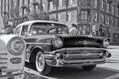 Starý Chevrolet na výstavu historických automobilů — Stock fotografie